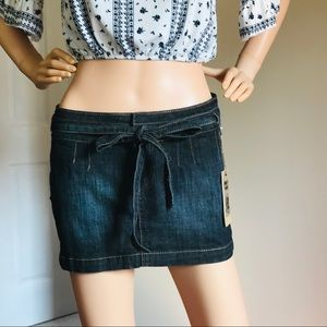 H&G Casual and Cute Blue Mini Skirt Size M